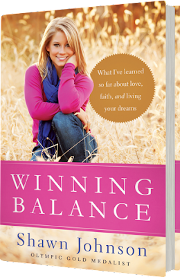 'WINNING BALANCE,' BY SHAWN JOHNSON. Review of the 2013 autobiography by the Olympic gymnast and DWTS winner. All text © Rissi JC